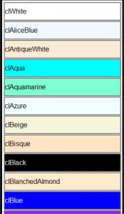 ColorListBox